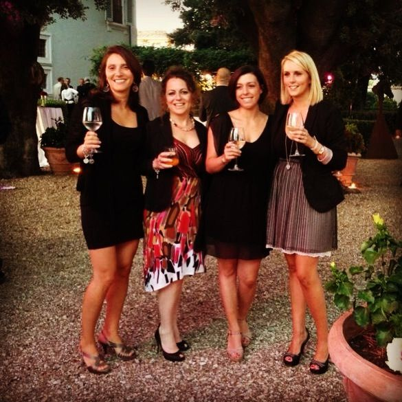 Central Booking Office and Sales Dept. Elisabetta, Clizia, Laura and Sara