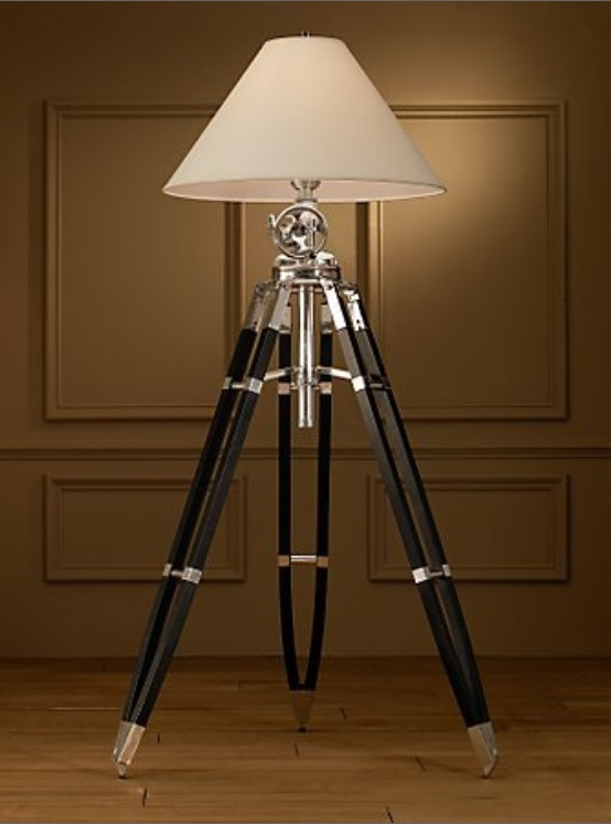 Lamps And Lighting Are Best When They Have Style Beyond Their Purpose Of  Illuminating Our Surroundings. The Royal Marine Tripod Lamp Bears .