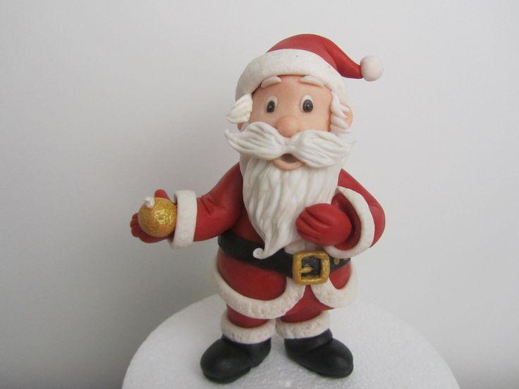 Video Tutorial di Babbo Natale in pasta di zucchero