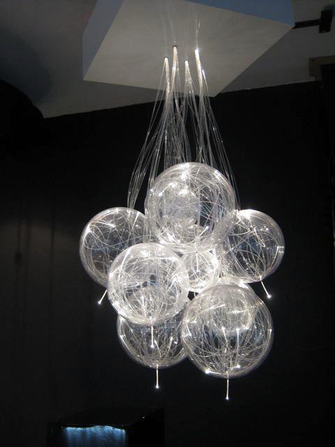 lampadario led : lampadario-design-led-fibra-ottica-