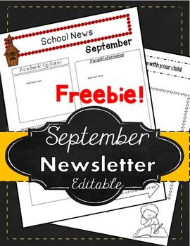 new bracelets Free   Newsletter   Newsletter   Read All About it  Freebie    Start the year off right with a Free September Newsletter Template  This is a 3 page power point document includes teacher tips  and a September newsletter template