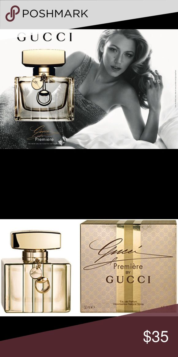 """Gucci eau de parfum(new in box, opened but unused) """"Inspired by timeless Hollywood glamour and fronted by a modern icon – Blake Lively  TOP: bergamot, orange blossom; The fragrance opens with the luxury and exuberance of a vintage champagne.   HEART: white flowers, musk; At the scent's core nestle the brilliant white flowers of an intense bouquet, laced with a magnetically sensual modern musk.   BASE: leather, wood; The fragrance's warm and indulgent foundation rests in a beguiling cocktail…"""
