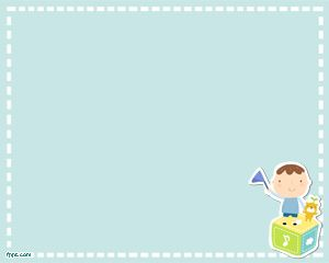 Free educational games PowerPoint template background for kids
