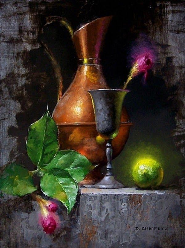 """David Cheifetz: """"lime-and-blossom"""""""