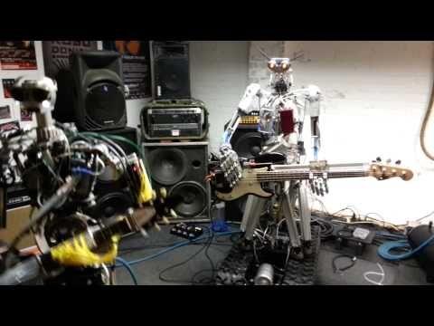 German Robot Bank Compressor Head