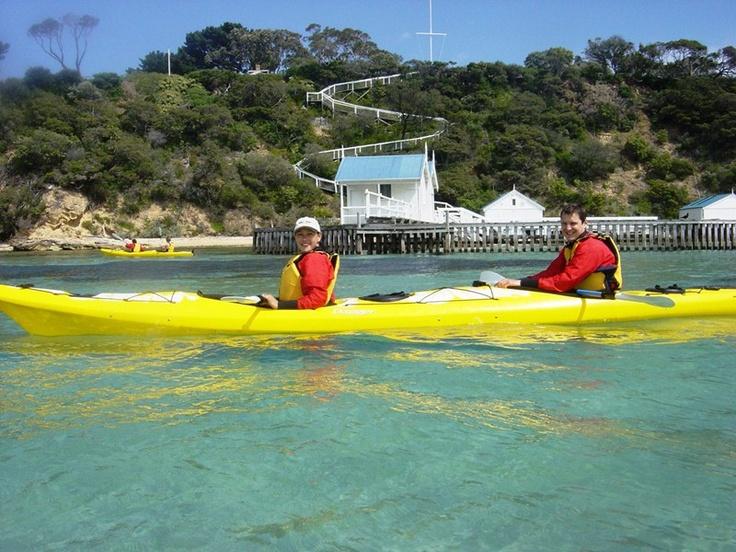 Bayplay Adventure Tours - Sea Kayak Tours. Mornington Peninsula, Victoria, Australia.