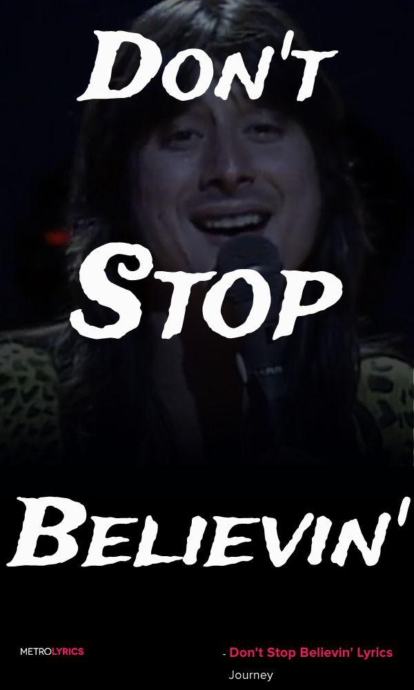Journey - Don't Stop Believin
