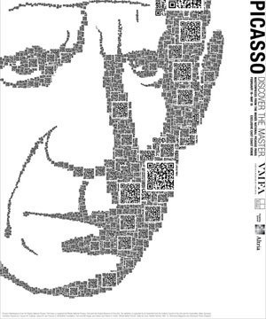 QR Code Art Picasso...