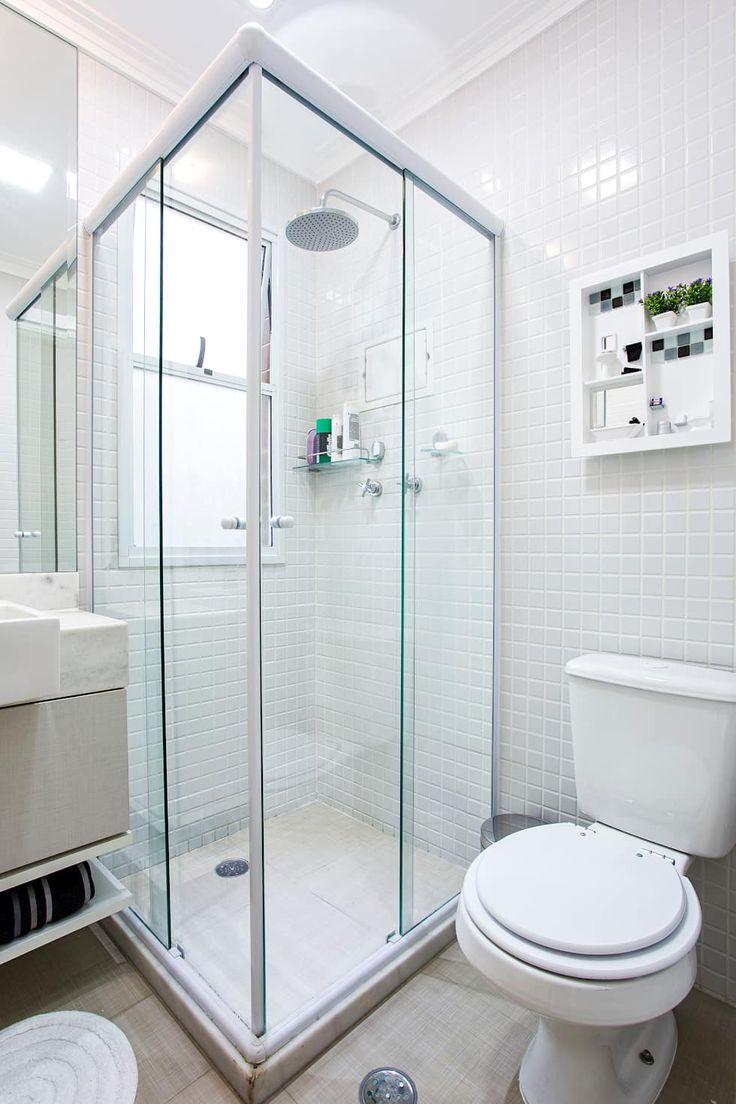 Baños de estilo moderno de Amanda Pinheiro Design de interiores