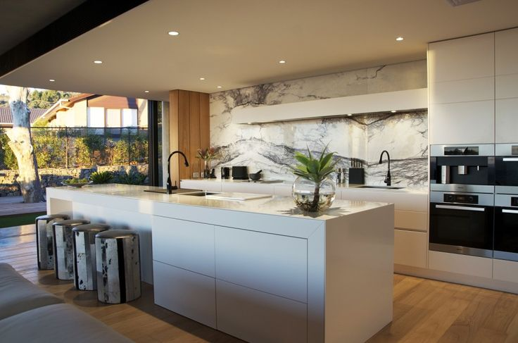 2 glacier white corian kitchen benchtop