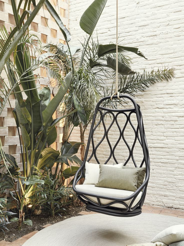 Schön Nautica Rattan Swing Chair. Indoor. Designed By Alberto Sánchez   MUT  Design. Year