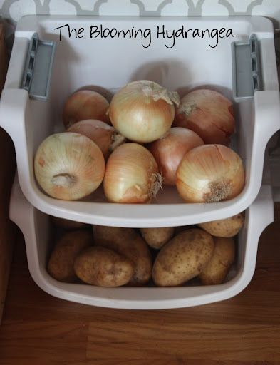 How To Store Potatoes And Onions In Pantry | Zef Jam