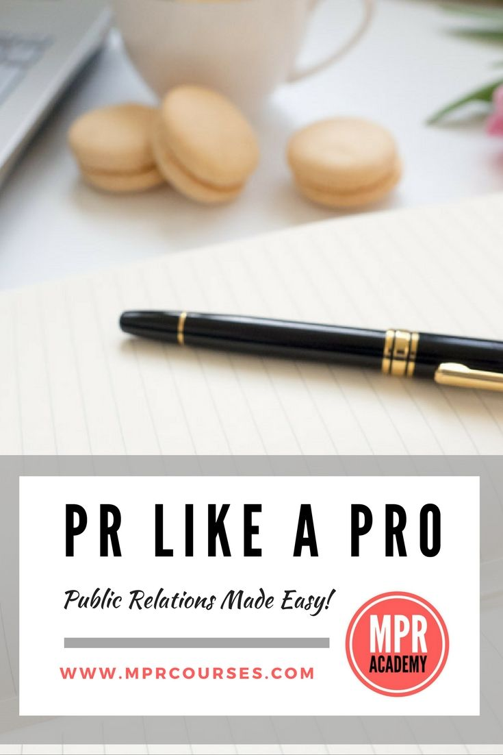 Land the HEADLINES you were made for - enroll in the MPR Academy's Public Relations Like a Pro online course for only $29 and turn your media dreams into reality! Click the pic to reserve your seat TODAY!