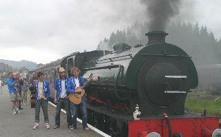 Hope & Social Grassington Festival Run Steam Train 2