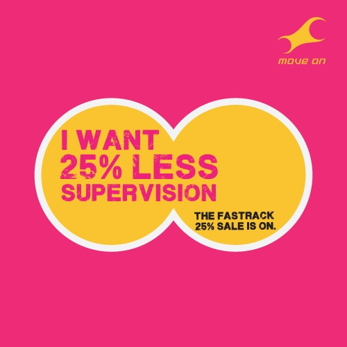 I want 25% less supervision #25reasonstoshop Flat 25% OFF on Bags, Belts, Wallets & Sunglasses!