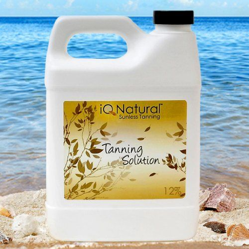 IQ Natural Sunless Tanning Solution 32oz12 for ProfessionalHome Spray Tan Mango Scent * Be sure to check out this awesome product.