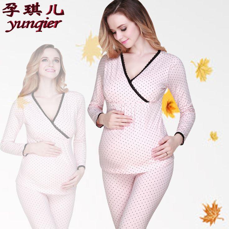 Грудное вскармливание одежда для беременных пижамы комплект беременным pijamas 100 хлопок уходу пижаме беременность пижамы большой размер купить на AliExpress