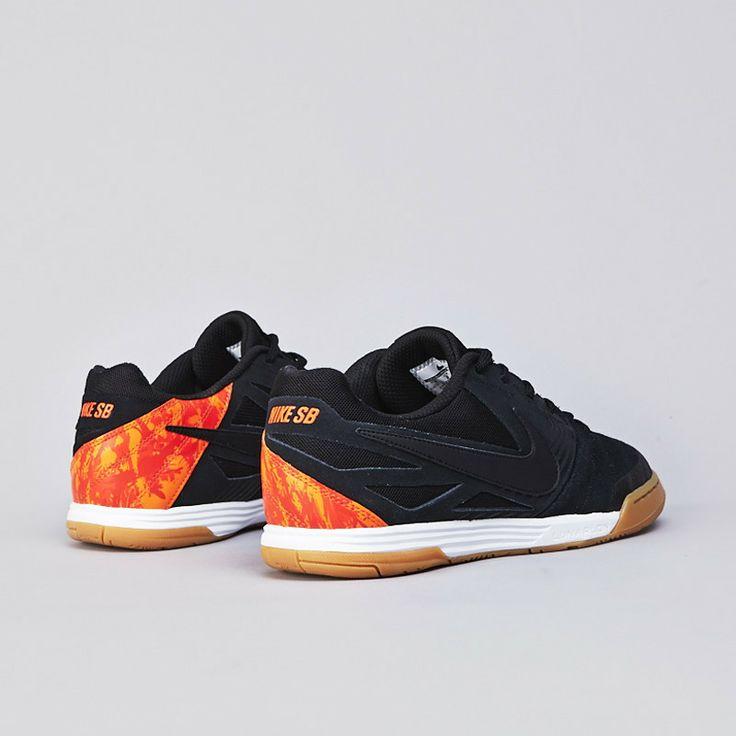 sale retailer d2799 5e75d ... Nike SB Lunar Gato WC Black Safety Orange ...
