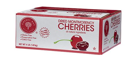 Dried Montmorency Cherries are a grown in our orchards in the Cherry Capital of the World. Our Dried Cherries are plump and flavorful, perfect for adding to cereal, salads, trail mixes or as a tasty snack on their own.