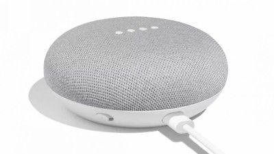 Google Home Mini - Smart Small Speaker Assistant - Chalk Grey - BRAND NEW,