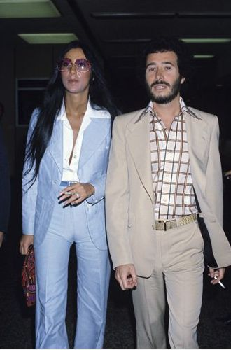 Chris and I should start wearing pant suits more often.