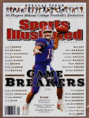 2000 GIN! Tim Tebow 2008 Sports Illustrated SPECIAL EDITION Florida Gators FOOTBALL GAME BREAKERS!