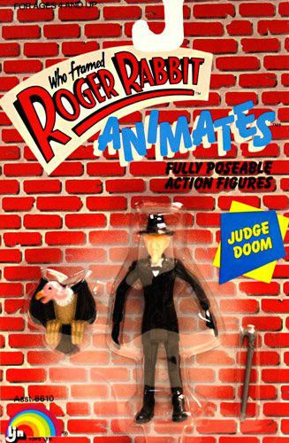 Who Framed Roger Rabbit Animates JUDGE DOOM Figure, NEW! LJN 1987 NICE! #LJN