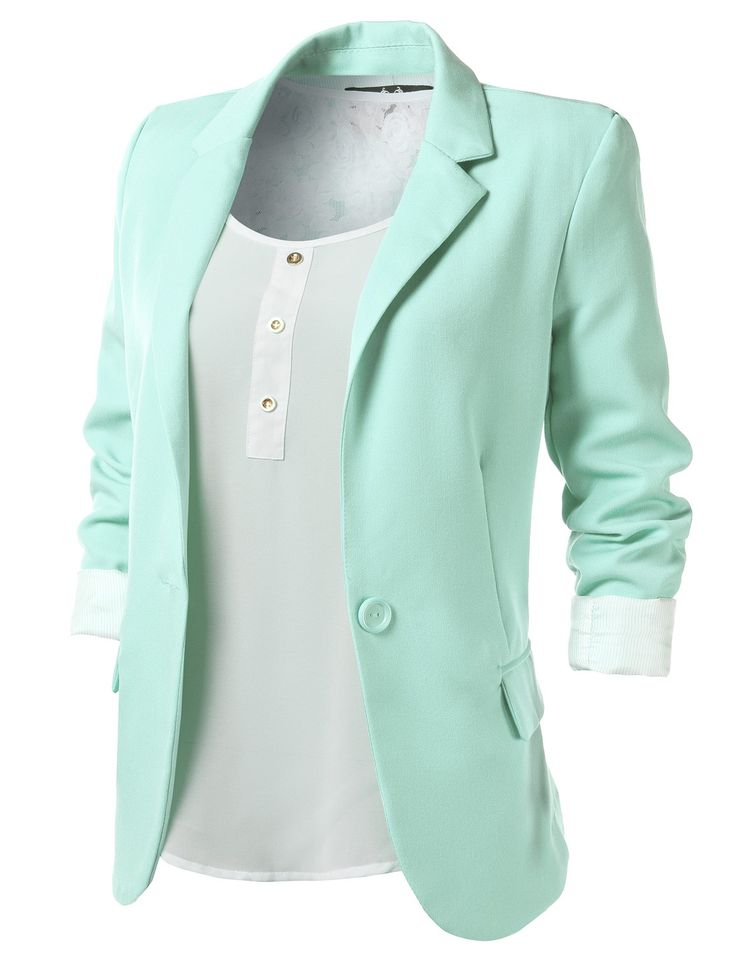 17 Best ideas about Colored Blazer on Pinterest | Women blazer ...
