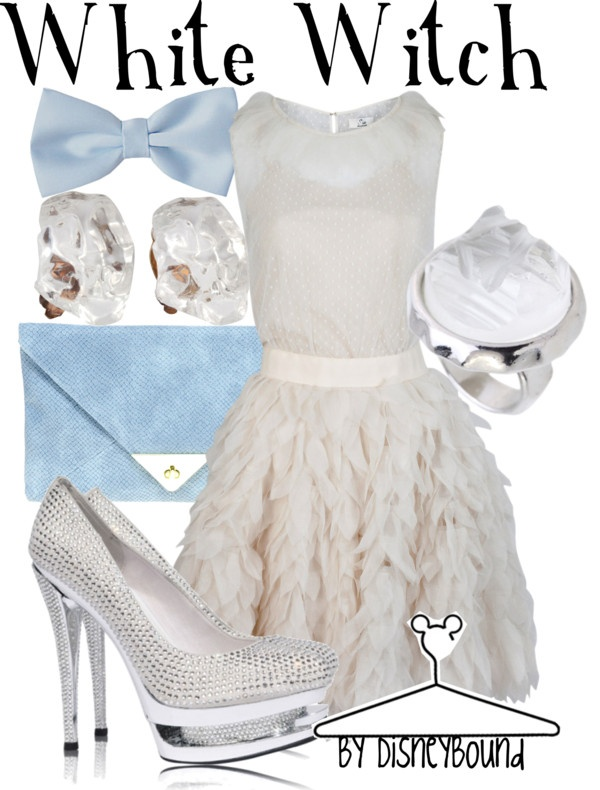 White Witch, created by lalakay on Polyvore