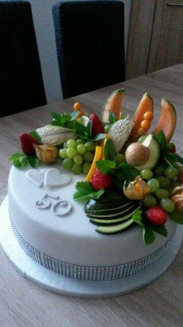 Torta s ovocim.