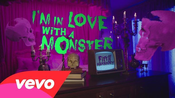 2015 HALLOWEEN EARWURM Fifth Harmony - I'm In Love With a Monster (from Hotel Transylvania 2)
