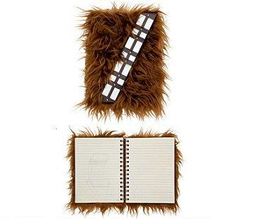 Star Wars Chewbacca Journal fluffy