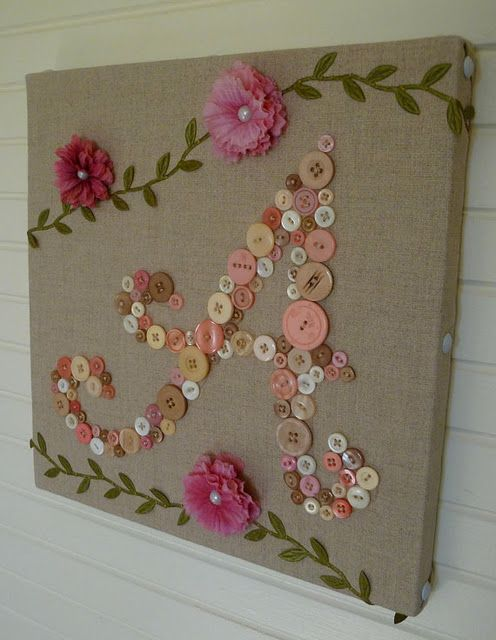 sweet button initial