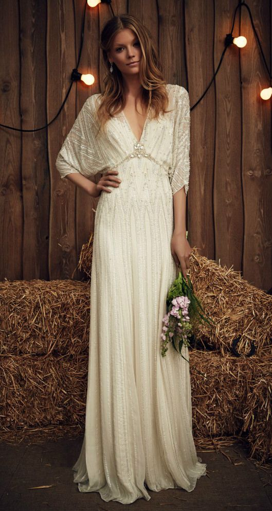 Jenny Packham 'Montana' Wedding Dress. Designer wedding dresses for 2017