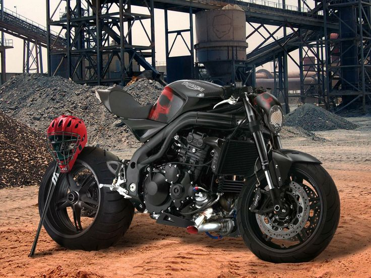 Triumph Speed Triple 1050 от Krax-moto