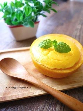 グレープフルーツのさっぱりチーズケーキ レシピブログ