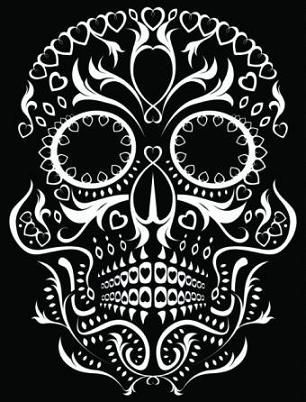 Day of the Dead Tattoo Designs   Day of the Dead Skull Tattoo Designs