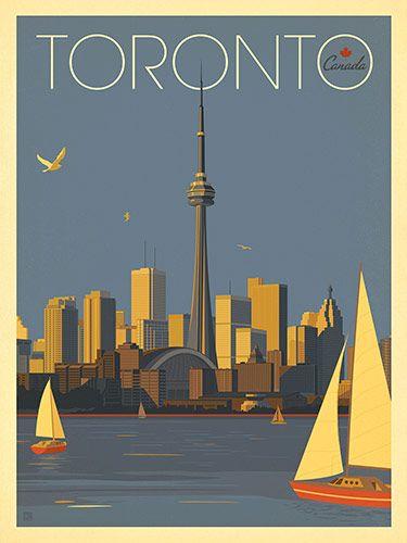 Canada: Toronto Sailboats