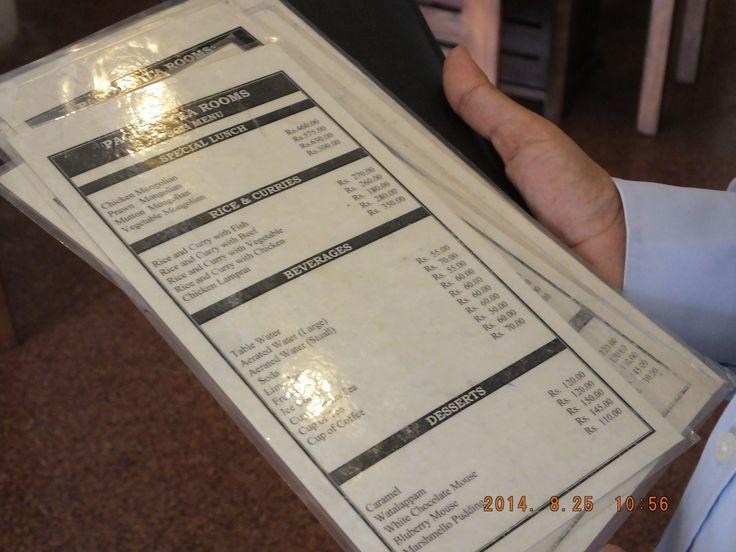 pagoda tea room menu