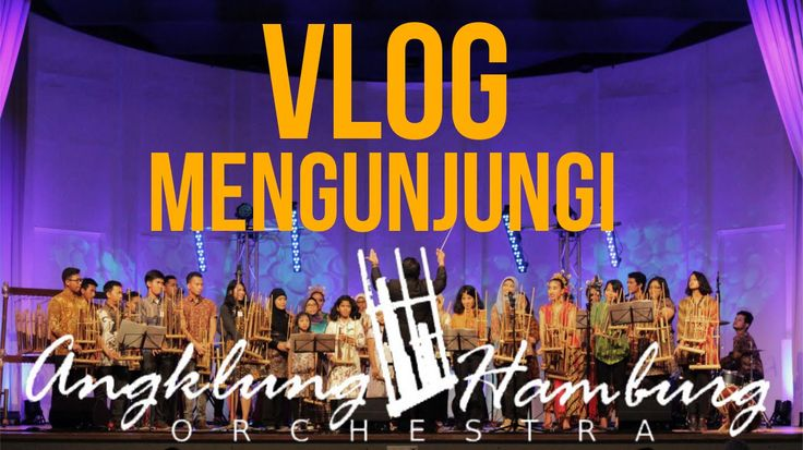 Check out the special episode on his channel with Angklung Hamburg Orchestra! @angklunghamburg on twitter