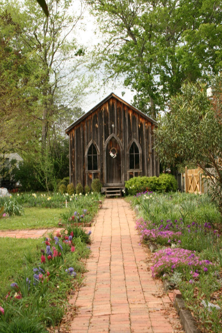 The Little Chapel In Old Prattvillage On First Street Prattville Alabama