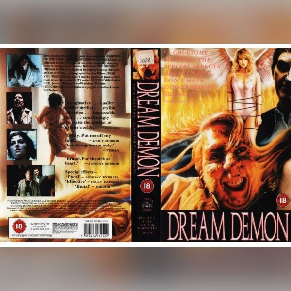 And some rare BREXploitation to gloat on not only in the wake of the destructive Brexit vote, but for the upcoming general election in June this year... ••• Dream Demon, pre-Brexit Britain (1988) ••• 😡😥😭🔥🔥🔥🔥🔥✊🏻👊🏻👍🏻📸🔥💦 ••• #DreamDemon #JemmaRedgrave #KathleenWilhoite #MurphysLaw #VHS #PAL #elokuvat #film  #kauhu #hirviö #Brexshit #Coraline #Dämonen #Pingas #YouTubePoop
