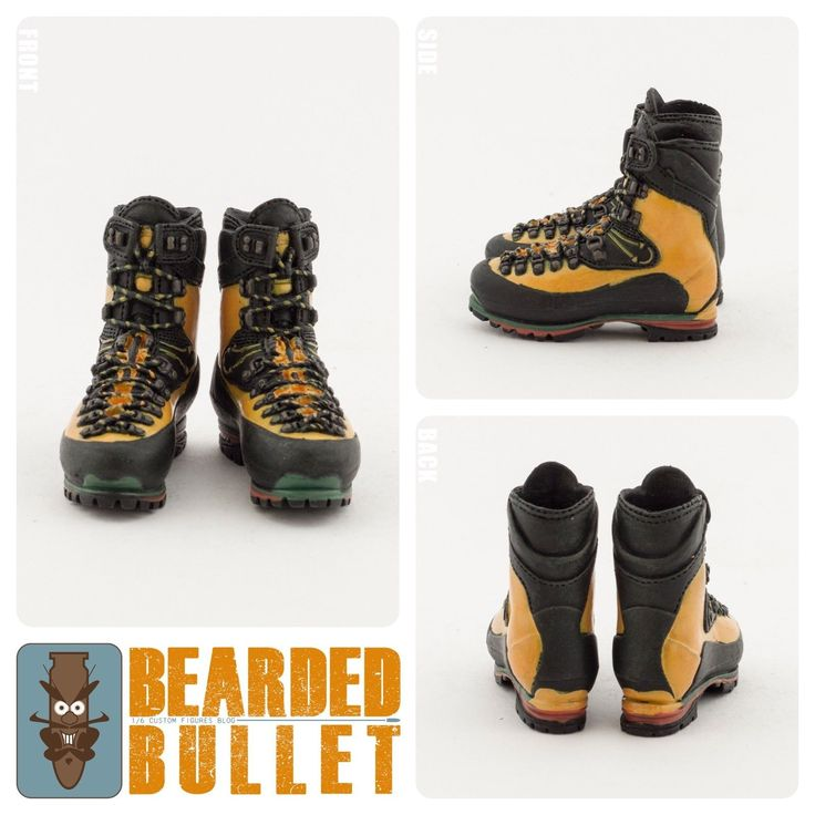 1/6 Mountaineering Boots / Special Force Mountain OPS Sniper / HOT TOYS | Jouets et jeux, Figurines, statues, Autres | eBay!