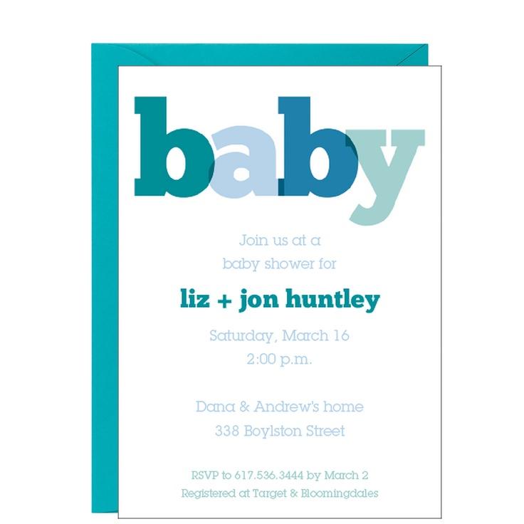 32 best Graphic Design: Baby Shower Invitation Inspiration images on ...