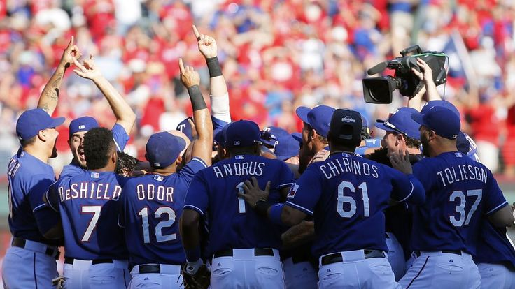 The schedule for the Texas Rangers in the American League Division Series