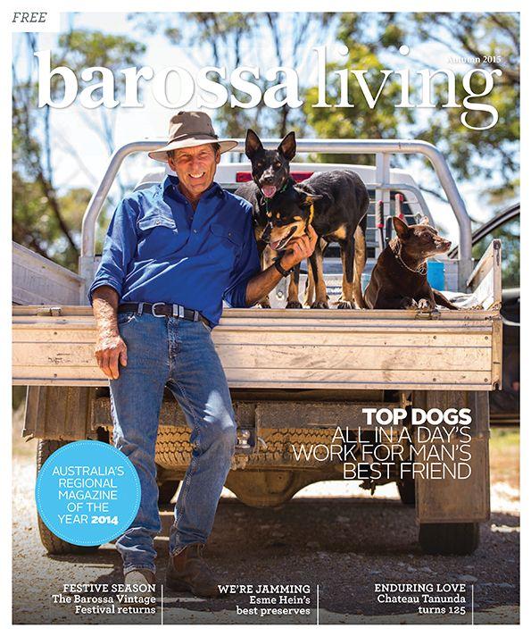 Barossa Living Magazine | Autumn 2015 Issue cover