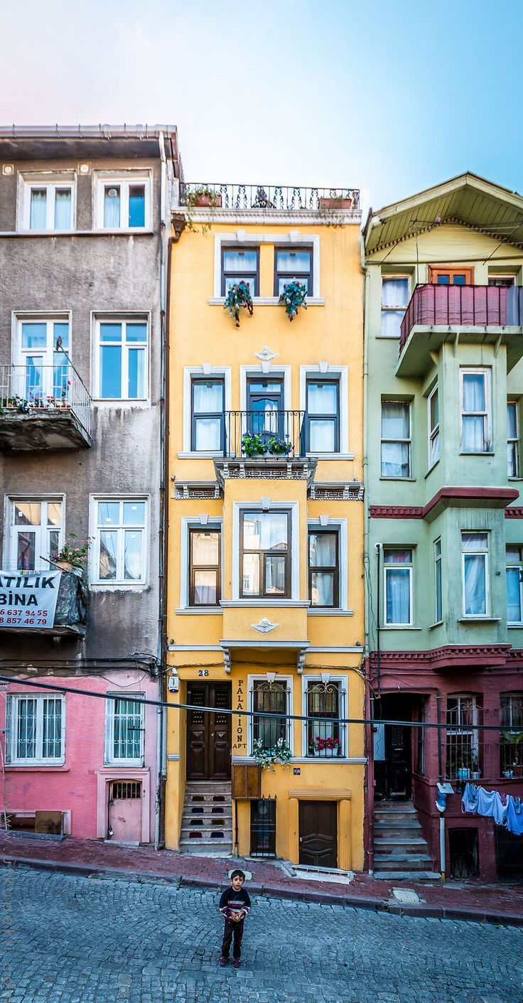 The Most Colorful Places in the World BALAT, ISTANBUL, TURKEY