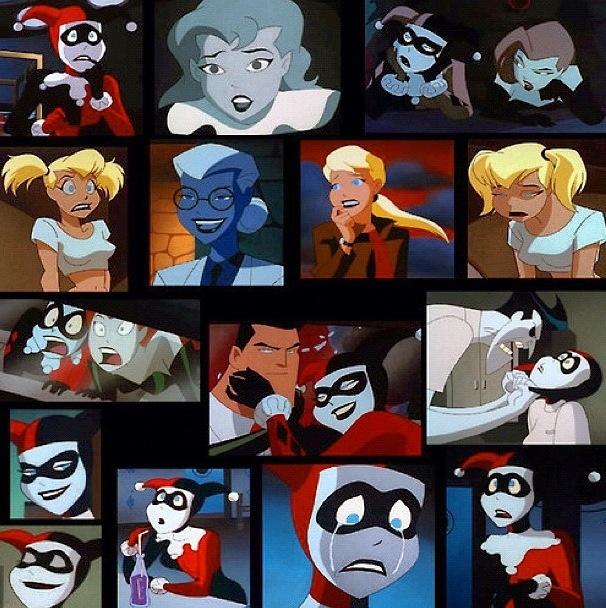 Harley Quinn in the batman animated series