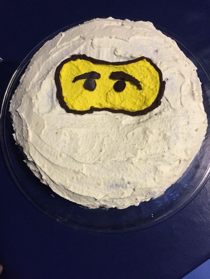 Ninjago kake - Joakim 6 år