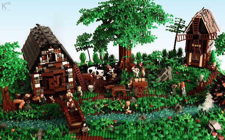 Medieval Barn & Windmill | Flickr - Photo Sharing!